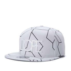 Men's Hip Hop Dope Letters Printed Caps