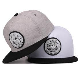 Men's Hip Hop Eye Printed Caps