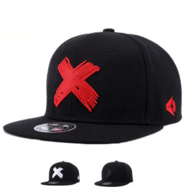 Men's Hip Hop X Embroidery Caps
