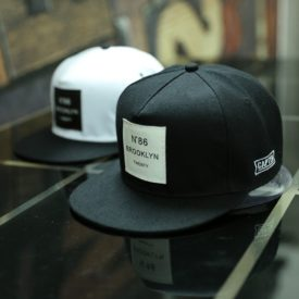 Men's Hip Hop Adjustable Acrylic Caps