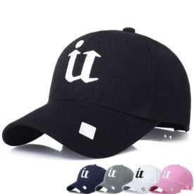Adjustable Men Women Multicolor Embroidery Baseball Cap