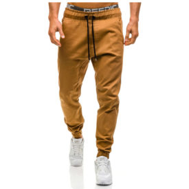 Hip Hop Style Solid Color Joggers