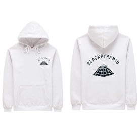 Men's Hip Hop Pyramid Printed Hoodies